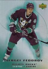(HCW) 2005-06 Upper Deck McDonald's #3 Sergei Fedorov MINT Ducks