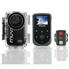 Cámara De Acción Veho Muvi HD NPNG Pro 1080P Casco Cam +3 montajes Extra