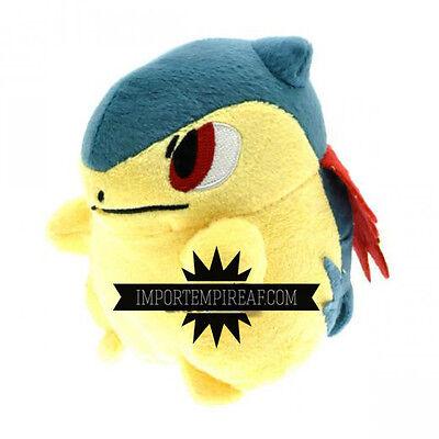 Sonstige Pokemon Typhlosion Plüsch Plush Tornupto 157 Feurigel Professor Schwarz-weiss Attraktive Mode Bean Bags