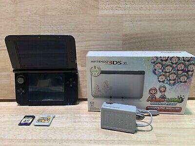 Nintendo 3ds Xl Collectors Edition Silver Mario Luigi Dream Team