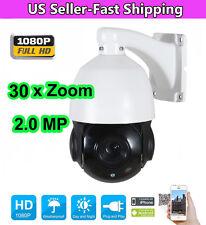 4.5'' 30X Zoom 1080P 2.0 MP Mini Outdoor PTZ IP Speed Dome Camera Night IR-CUT