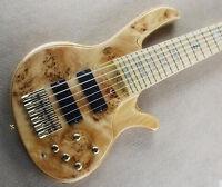 Custom bass guitar 6 strings electric bass guitar active pickups NEW DESIGN