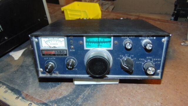 Ham Radio Atlas 180M HF CW SSB Transceiver Vintage Solid State Mobile