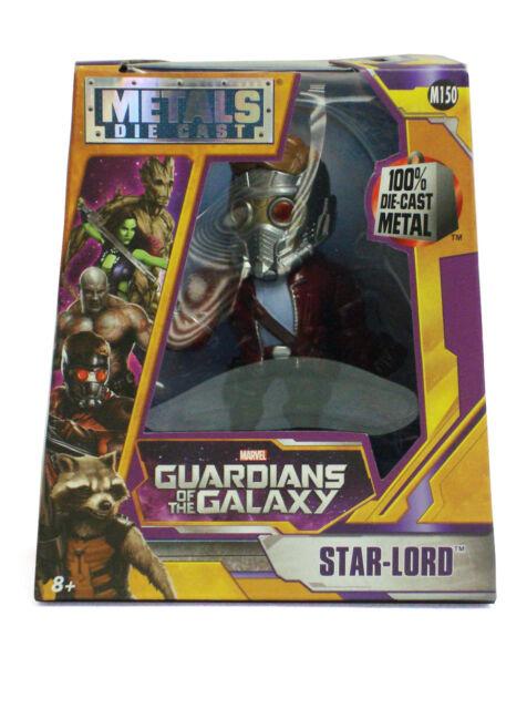 "Jada 4/"" Gardiens de la galaxie métaux DIECAST ACTION FIGURE STAR LORD 97965"