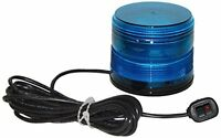 North American Signal Led625mx-b Led Beacon, Magnetic Mount, Blue, New, Free Shi