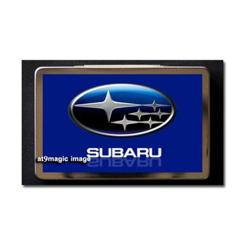 SUBARU Collectors Metal Business Card Case Holder