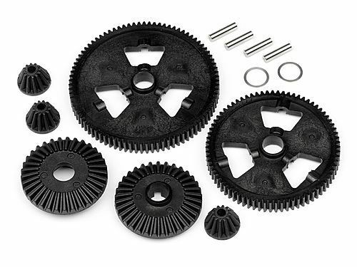 HPI Racing - Spur Gear / Differential Gear Set (75T/87T/48P), Formula Ten