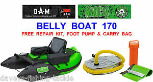d9e836fbcd38c0 Image is loading MAD-CAT-170-BELLY-BOAT-FLOAT-TUBE-FOR-