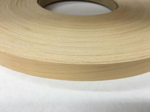 "maple Prefinished preglued 2/""x50/' wood veneer Edgebanding"