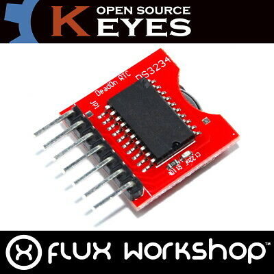 DS3234 Timing Clock RTC Module with Interface CLK MISO MOSI SS For ARDUINO