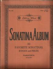 30 Favorite Sonatas Rondos & Pieces For Piano Wood Edition Classical 133 Pages