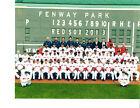 2013 BOSTON RED SOX 8X10 TEAM PHOTO BASEBALL FENWAY
