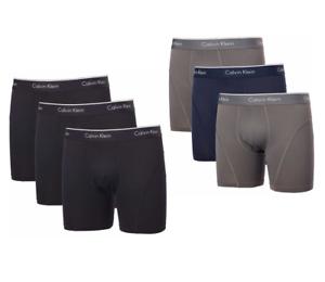 3-Pack-Calvin-Klein-Men-039-s-Boxer-Brief-Underwear-Microfiber-Pro-Mesh-Size-Color