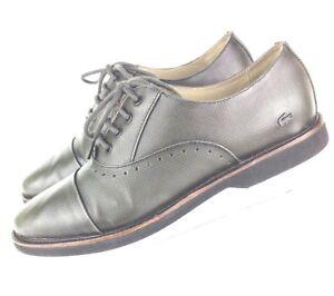 bb048de5515ba Lacoste Women's Cambrai Derbies Leather Lace up Shoes sz 8 (ssw7) | eBay