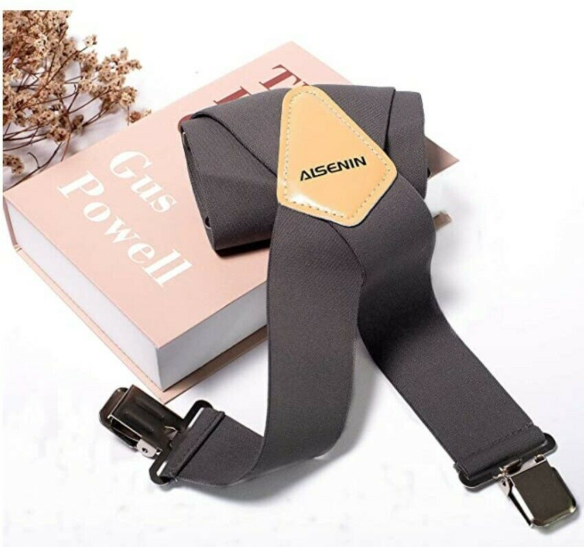 2 Inch Work Suspenders Mens Industrial Strength Suspenders for Men Heavy Duty