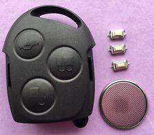 Repair Kit for Ford Mondeo Focus Fiesta Ka Puma 3 Button Remote Key Fob Case