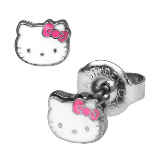Studex Erstohrstecker Ohrringe Chirurgenstahl Hello Kitty 1 Paar