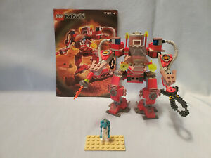 LEGO-Space-Life-on-Mars-7314-Recon-Mech-RP-Complete-Instructions-Minifig