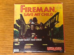 1954-Fireman-Save-My-Child-Super-8mm-Film-Buddy-Hackett-Castle-Films-1029