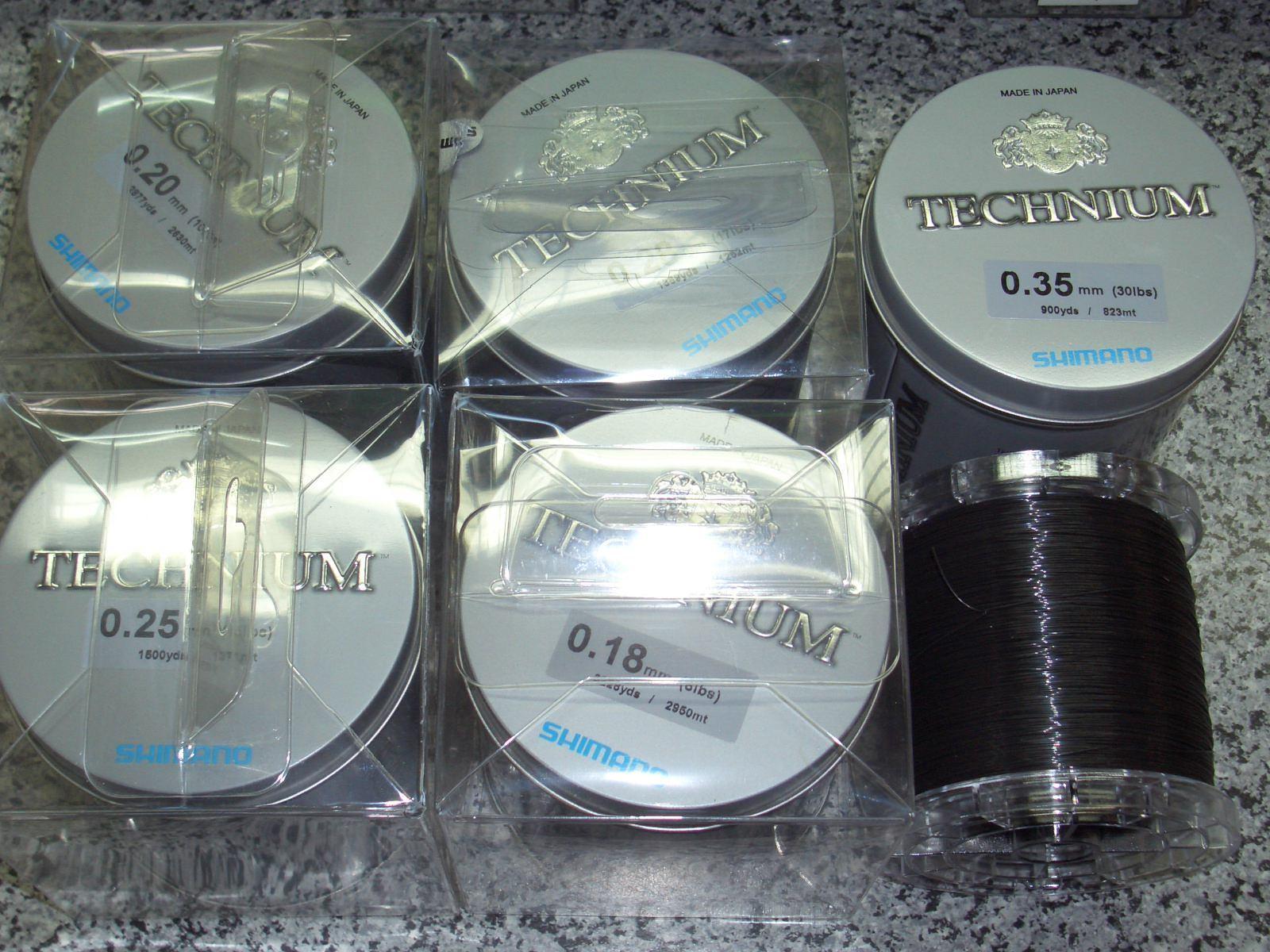 Shimano Technium Angel Schnur der 0,18mm, Extraklasse Sparpreis 2950m, 0,18mm, der 3,500kg a9d794