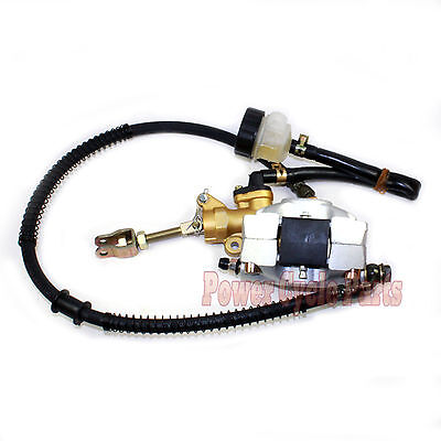 REAR HYDRAULIC BRAKE MASTER CYLINDER 50CC - 250CC GO KART ATV  CHOPPER DIRT BIKE