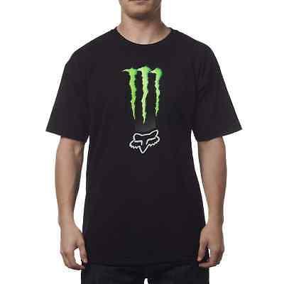 Fox Racing Monster Energy Zebra T-shirt Men's Tee Large 19363-001-L MX BMX MTB