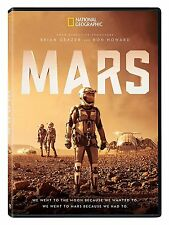 MARS DVD - BEN COTTON - RON HOWARD - NATIONAL GEOGRAPHIC