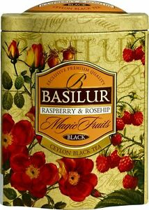 Basilur Magic Fruits   Black Tea With Raspberry & Rosehip by Basilur
