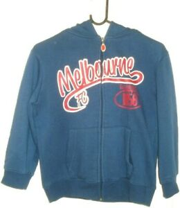 MELBOURNE-FOOTBALL-CLUB-SIZE-10-HOODIE-OFFICIAL-AFL-FREE-POSTAGE
