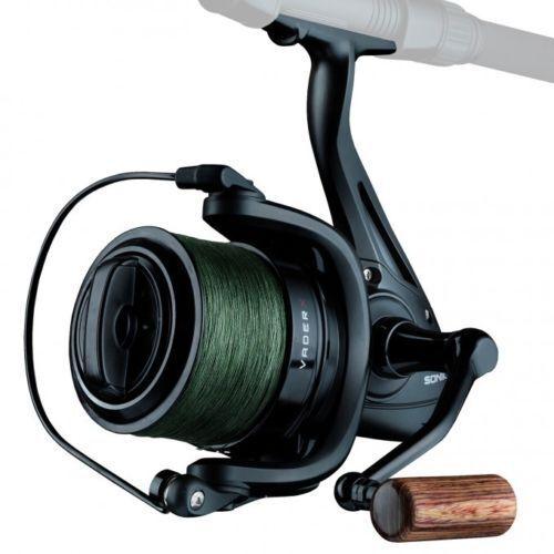 Sonik Vader X Spod Reel + Free 30lb Braid Loaded NEW Fishing - SVX8000SPD