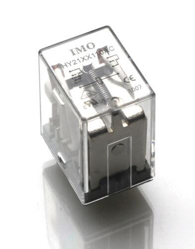 Bobina de OMI Relé HY21XX110AC 7A 250VAC 2 polos Ch//sobre MBB024d