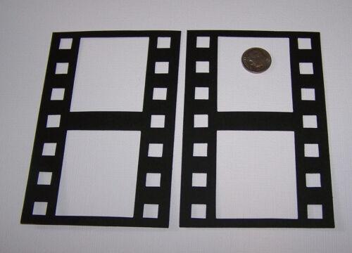 Scrapbook /& Card Making 4 Film Strip Frames Premade PAPER Die Cuts