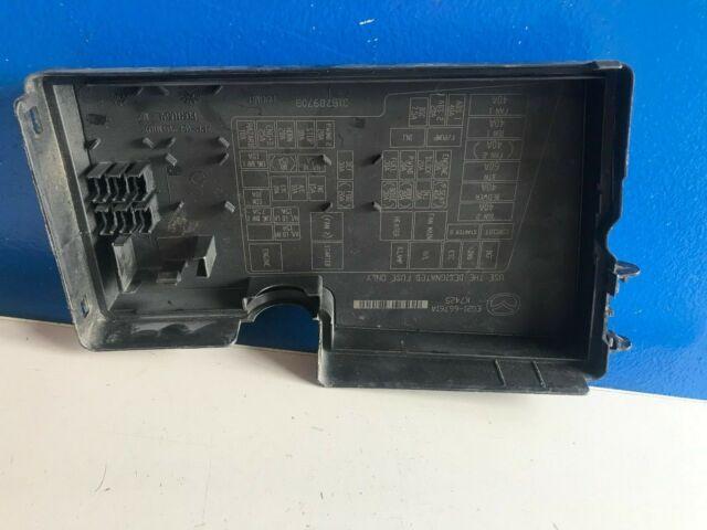 2007 2008 2009 MAZDA CX-7 FUSE BOX RELAY UNIT MODULE COVER ...