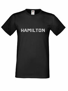 Lewis Hamilton F1 Driver 44 silver text t shirt 3 color size to kids to 5XL T001