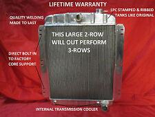 1948 1949 1950 1951 1952 1953 1954 Chevrolet Pickup Truck Aluminum Radiator