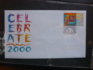 AUSTRALIA-1999-CELEBRATE-2000-HOLOGRAM-STAMP-FDC-FIRST-DAY-COVER