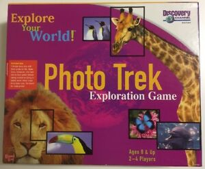 Details about Photo Trek Exploration Game University Games & Discovery  Channel 1999 COMPLETE