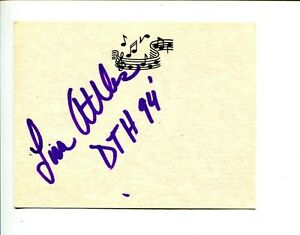 Lisa-Attles-Black-Ballet-Harlem-Dance-The-Ailey-School-Signed-Autograph