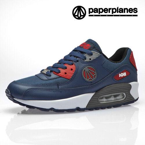 Paperplanes Para hombre Zapatillas Deportivas Correr Caminar, Zapatillas 1101 Air Acolchada NRG