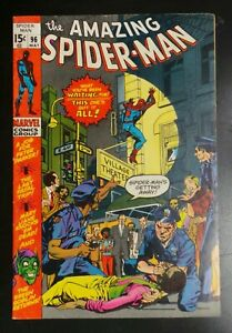 Amazing-Spider-Man-96-Marvel-Comic-1971-Drug-Story-Green-Goblin-Appearance