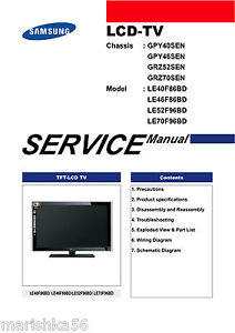 samsung le52f96bd service manual repair guide