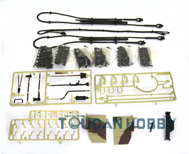 HengLong Plastic Accessories Bag 1 16 Scale Henschel King Tiger RC Tank 3888A