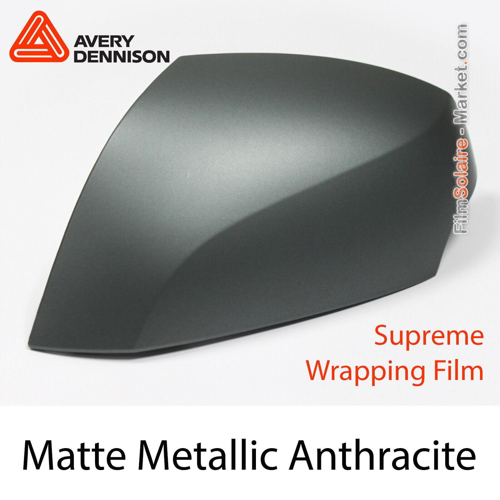 Matt Metallic Anthrazit, Avery Dennison Supreme Wrapping Folie, Ap2280001