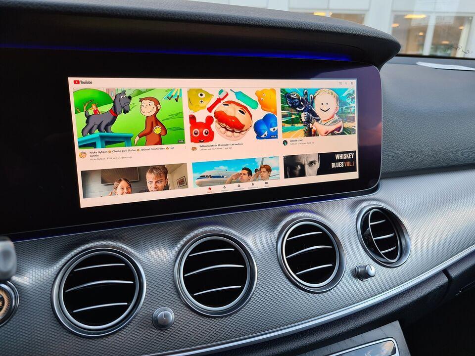 Se film i bilen: Netflix, YouTube mv