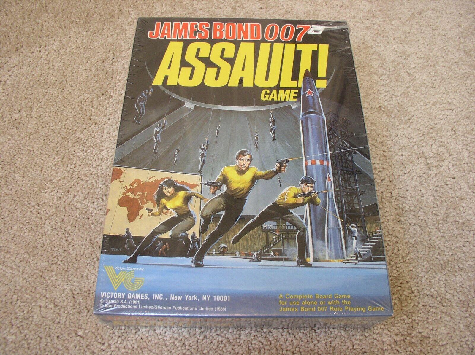 Victory giocos James  Bond 007 Assault  gioco - sealed  vieni a scegliere il tuo stile sportivo