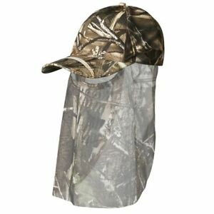 Cap-with-built-in-Veil-by-Sealand-Max-4-Camo-Wildfowling-Pigeon-Shooting