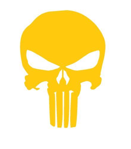 """High Heat Punisher Vinyl Firearm Stencil 1.5/"""" x 2/"""" Cerakote Duracoat"""