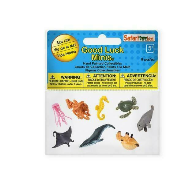 Safari Products GOOD LUCK MINIS EXOTIC Fun Pack 352222 FREE SHIP//USA w//$25