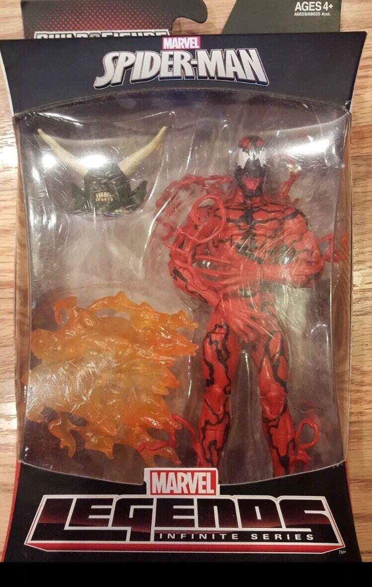Marvel Leggende Infinita autoNAGE azione cifra Nuovo Ultimate Goblin BAF Wave