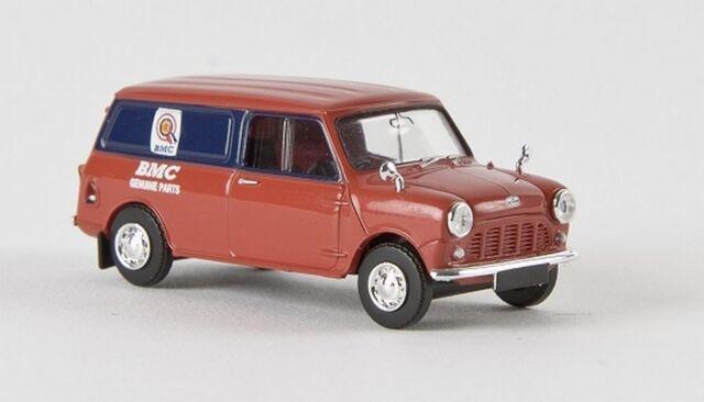 """Brekina 15358 - 1/87 Austin Mini Van """"Bmc""""  Td - Neu"""